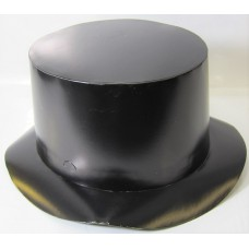 Foil Party Top Hats Black 25s