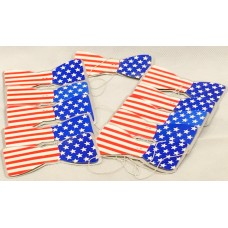 Bowties USA Party 100 Pack