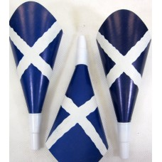 Trumpets Scotland Flag Party Printed 12s