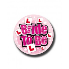 Badge 15cm Bride To Be