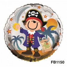 Balloon Foil - Pirate design