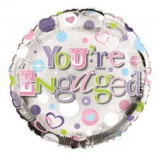Balloon Foil - Engaged