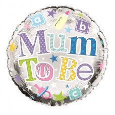 Balloon Foil - Mum to Be