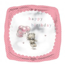 Balloon Foil - Happy Birthday Square