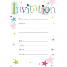 Invitation Party 20 Sheets with Envelope