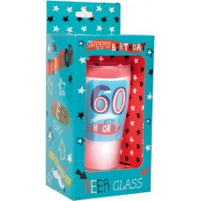 Keepsake Glass Beer for 60TH Birthday