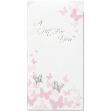 Money Wallet Gift Open Foil 3 fold Card