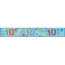 Banner Happy Birthday Age 10