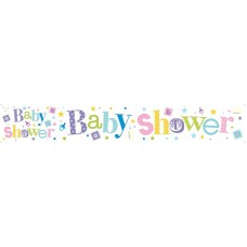 Banner Giant Baby Shower
