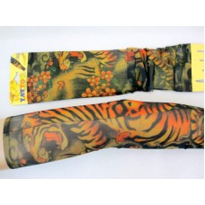 Tattoo Sleeves Pair- Tiger Design