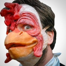 Mask Half Animal The Crazy Chicken