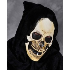 Mask Head Skull Grim with Hood