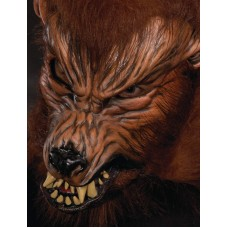 Mask Moving Mouth Wolf Howl O Ween